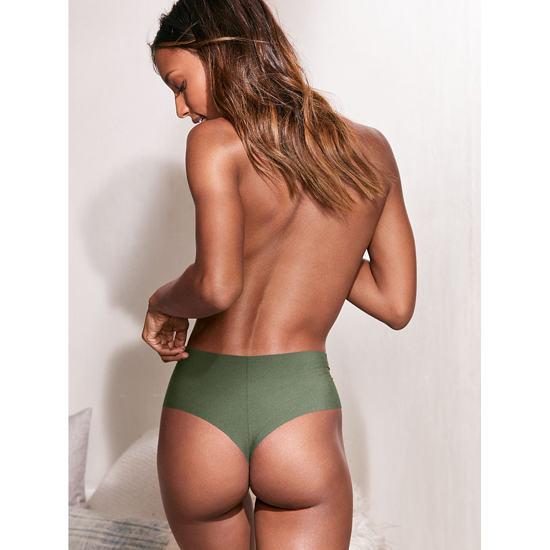 Cheap VICTORIA\'S SECRET Cadette Green NEW! Raw Cut High-waist Thong Online