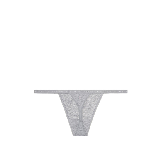 Cheap VICTORIA\'S SECRET Heather Grey NEW! V-string Panty Online
