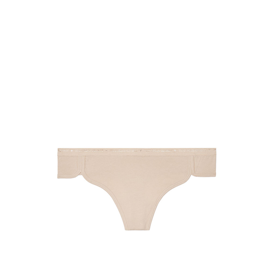 Cheap VICTORIA\'S SECRET Nude NEW! Curved-hem Thong Panty Online