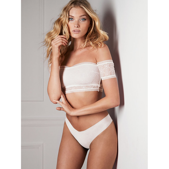 Cheap VICTORIA\'S SECRET White NEW! Raw Cut Thong Online