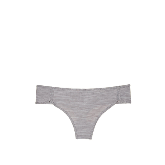 Cheap VICTORIA\'S SECRET Smokey Pearl NEW! Curved-hem Thong Panty Online