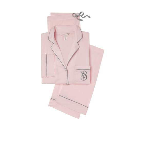 Cheap VICTORIA\'S SECRET Angel Pink NEW! The Sleepover Knit Pajama Online