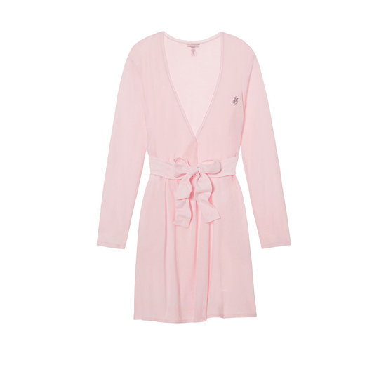 Cheap VICTORIA\'S SECRET Angel Pink NEW! Sleepover Knit Robe Online