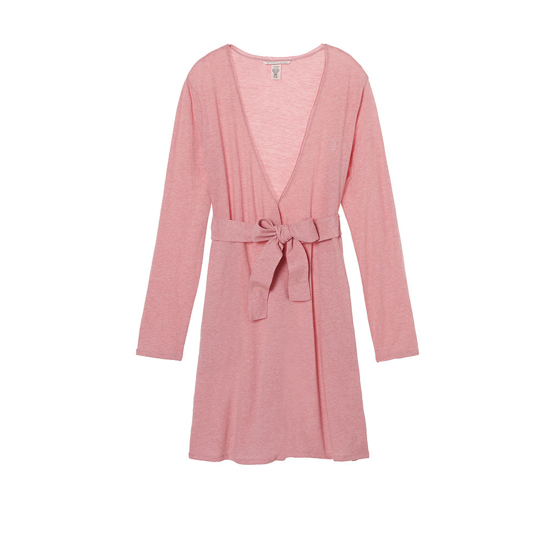 Cheap VICTORIA\'S SECRET Rosy Mauve NEW! Sleepover Knit Robe Online
