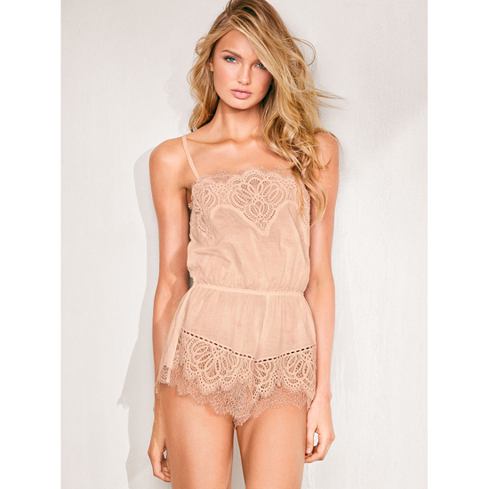 Cheap VICTORIA\'S SECRET Sugar Cookie NEW! Crochet Lace Romper Online
