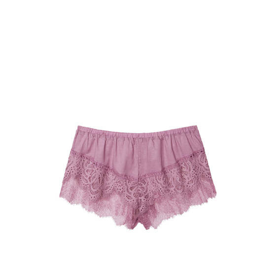 Cheap VICTORIA\'S SECRET Gentle Mauve NEW! Crochet Lace Short Online