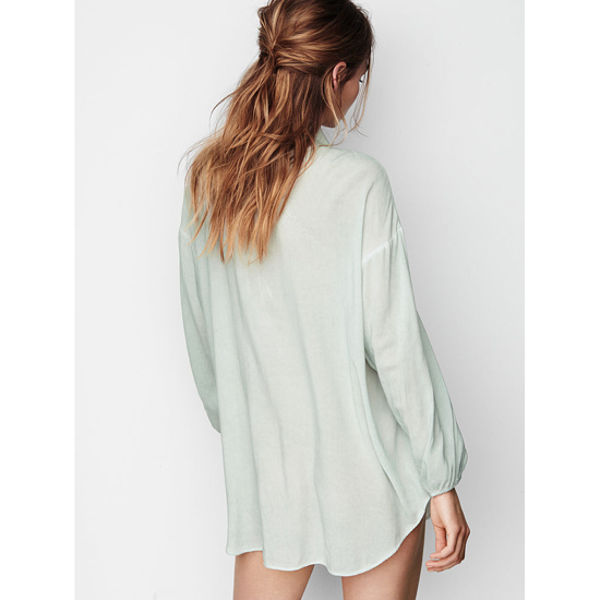 Cheap VICTORIA\'S SECRET Light Mint NEW! Sleep Kimono Online