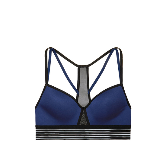 Cheap VICTORIA\'S SECRET Ink Blot Strappy Mesh Sport Bra Online