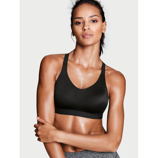 Cheap VICTORIA\'S SECRET Black Lightweight by Victoria Sport Bra Online