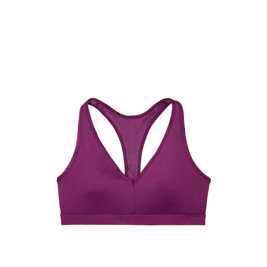 Cheap VICTORIA\'S SECRET Grape Soda Caged Racerback Sport Bra Online