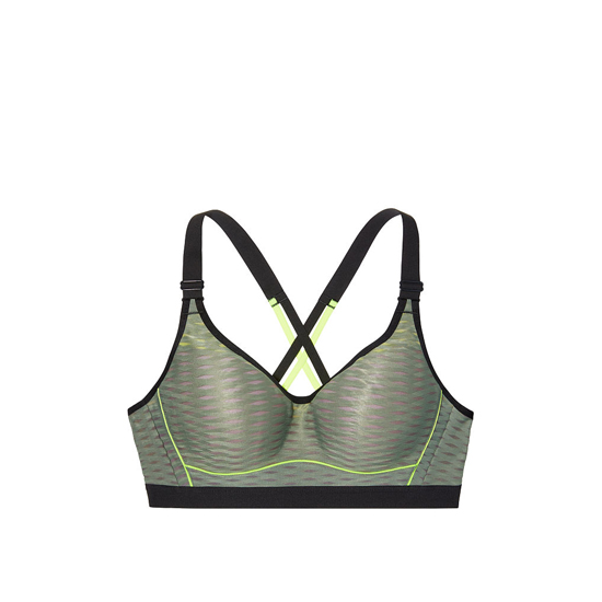Cheap VICTORIA\'S SECRET Cadette Green Mesh NEW! Incredible by Victoria Sport Bra Online