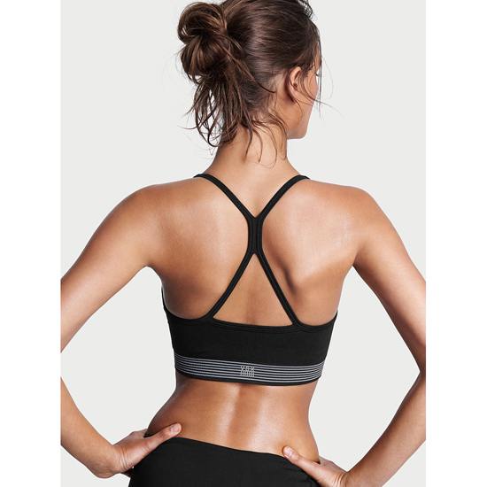 Cheap VICTORIA\'S SECRET Black Seamless Sport Bra Online