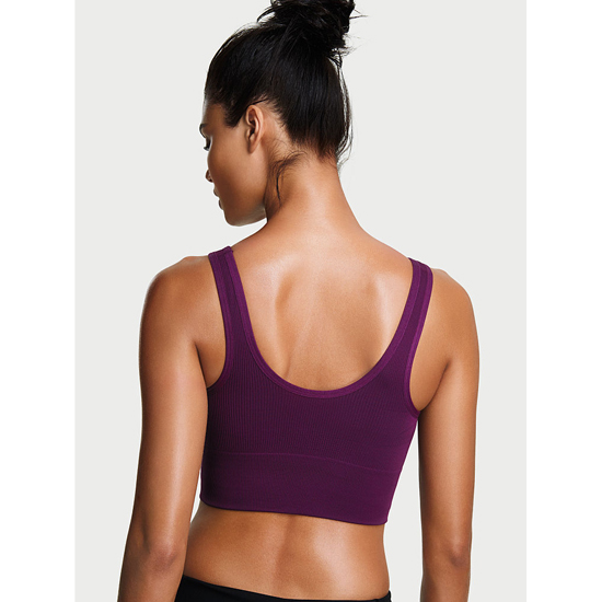 Cheap VICTORIA\'S SECRET Grape Soda NEW! Long Line Seamless Sport Bra Online
