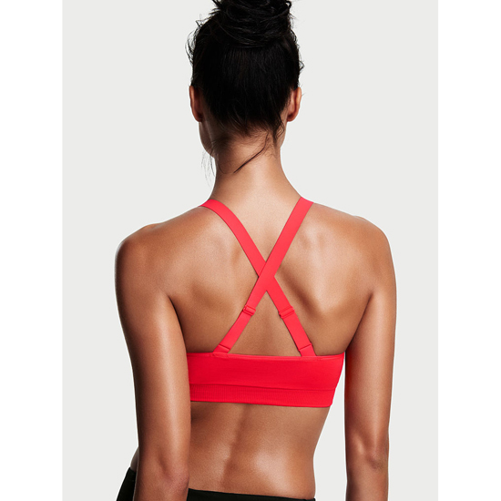 Cheap VICTORIA\'S SECRET Ignited NEW! Strappy-front Seamless Sport Bra Online