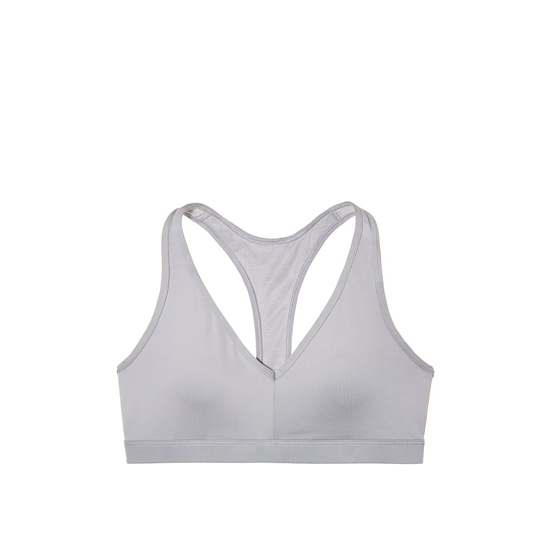 Cheap VICTORIA\'S SECRET Grey Oasis Caged Racerback Sport Bra Online
