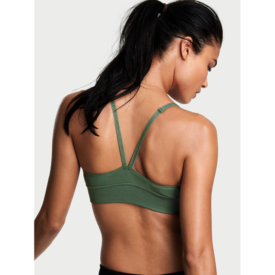 Cheap VICTORIA\'S SECRET Cadette Green Triangle Seamless Sport Bra Online