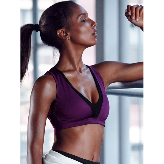 Cheap VICTORIA\'S SECRET Grape Soda NEW! Long Line Plunge Sport Bra Online