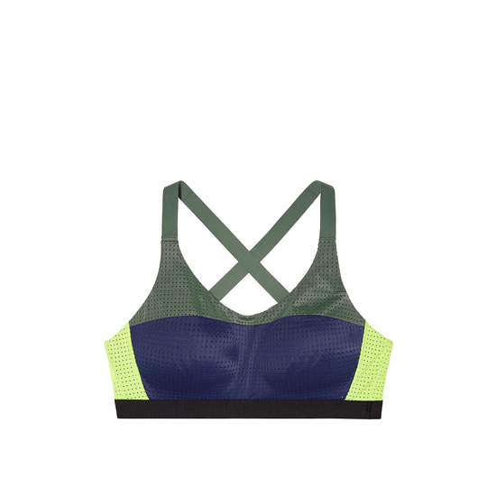 Cheap VICTORIA\'S SECRET Inkblot Bold Blocking NEW! Lightweight by Victoria Sport Bra Online