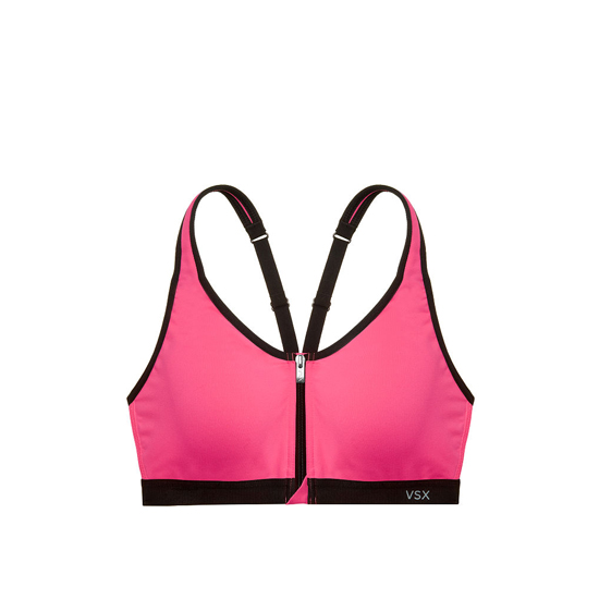 Cheap VICTORIA\'S SECRET Hello Lovely NEW! Knockout by Victoria Sport Front-Close Sport Bra Online
