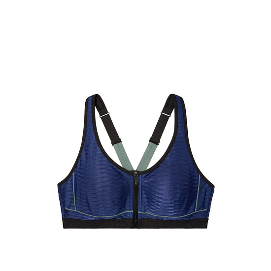 Cheap VICTORIA\'S SECRET Inkblot Mesh NEW! Knockout by Victoria Sport Front-Close Sport Bra Online