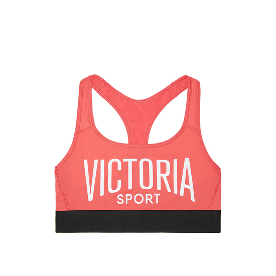 Cheap VICTORIA\'S SECRET Coral Reef/Victoria Sport NEW! The Player by Victoria Sport Racerback Sport Bra Online