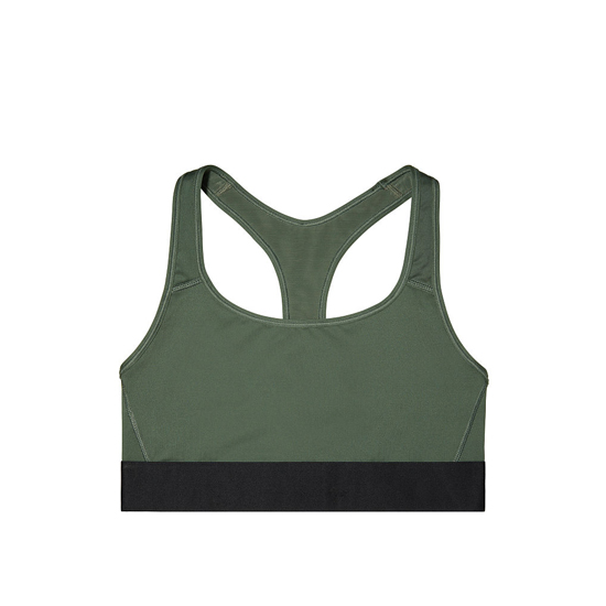 Cheap VICTORIA\'S SECRET Green NEW! The Player by Victoria Sport Racerback Sport Bra Online