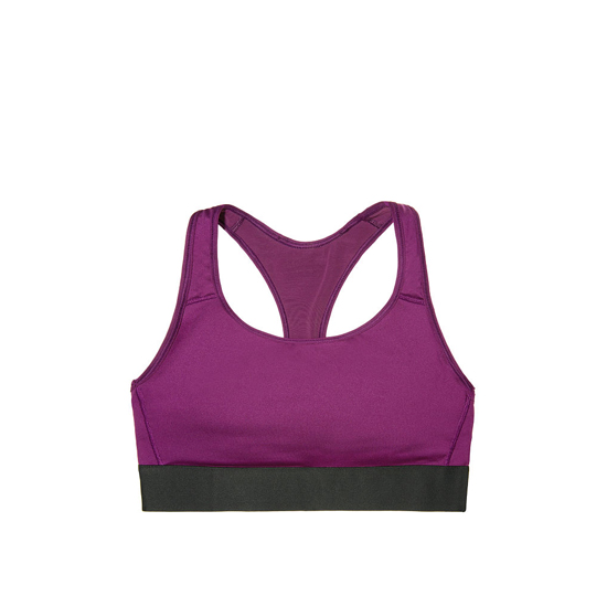 Cheap VICTORIA\'S SECRET Grape Soda NEW! The Player by Victoria Sport Racerback Sport Bra Online