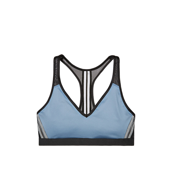 Cheap VICTORIA\'S SECRET Faded Denim NEW! The Player Plunge Sport Bra Online