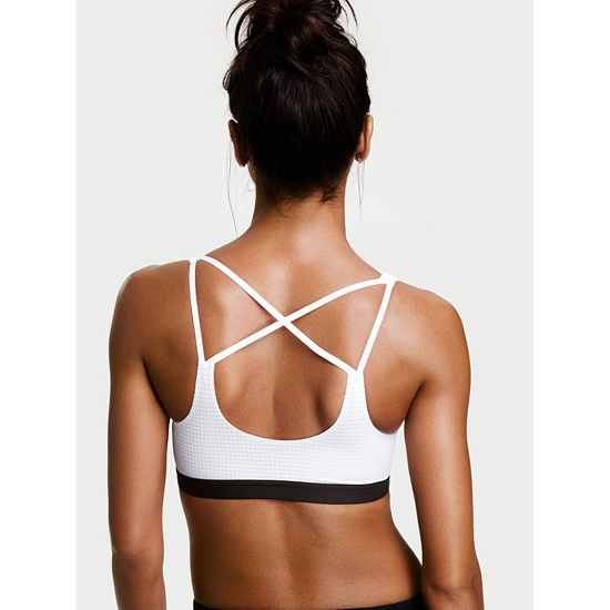 Cheap VICTORIA\'S SECRET White NEW! Lightweight by Victoria Sport Bra Online