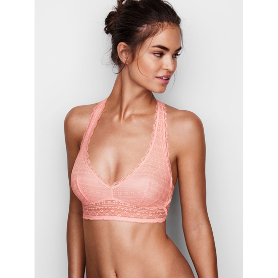 Cheap VICTORIA'S SECRET English Rose Lace Racerback Bralette Online