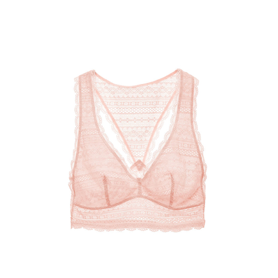 Cheap VICTORIA\'S SECRET English Rose Lace Racerback Bralette Online
