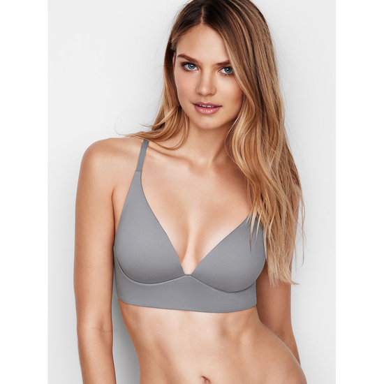 Cheap VICTORIA'S SECRET Sterling Pewter Easy Plunge Bra Online