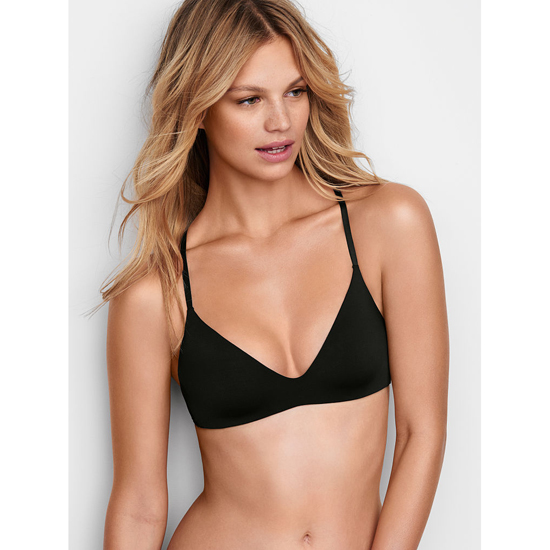 Cheap VICTORIA'S SECRET Black Lightly Lined Wireless Bra Online