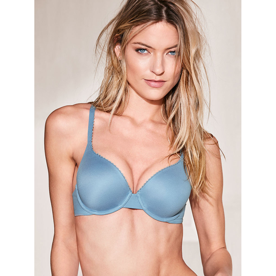 Cheap VICTORIA\'S SECRET Faded Denim NEW! Perfect Shape Bra Online