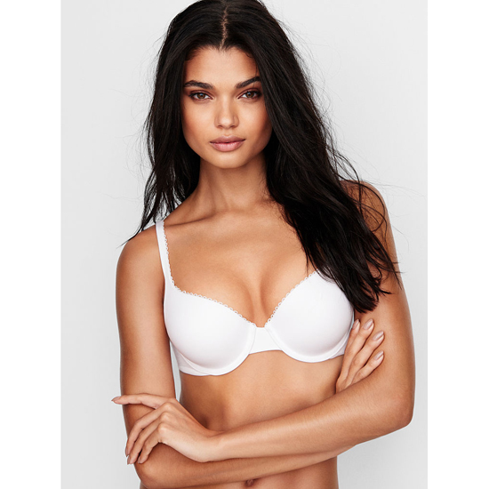 Cheap VICTORIA\'S SECRET White Perfect Shape Bra Online