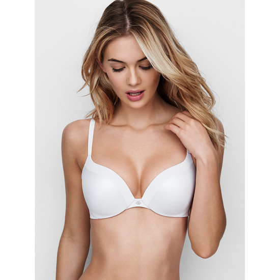 Cheap VICTORIA\'S SECRET White NEW! Add-1½-Cups Push-Up Bra Online