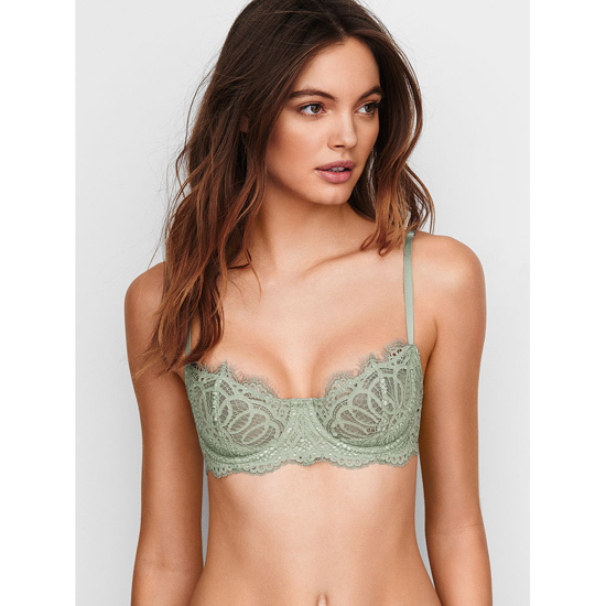 Cheap VICTORIA'S SECRET Silver Sea Lace NEW! The Unlined Uplift Bra Online