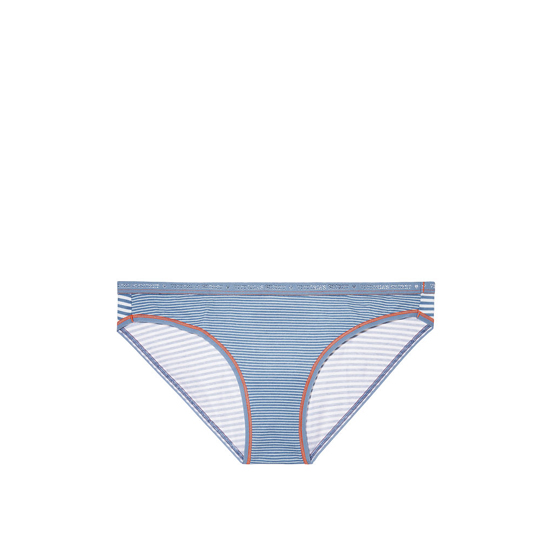 Cheap VICTORIA'S SECRET Faded Denim Skinny Stripe Low-rise Bikini Panty Online