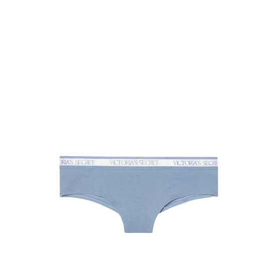Cheap VICTORIA'S SECRET Faded Denim NEW! Bold Logo cheeky Panty Online