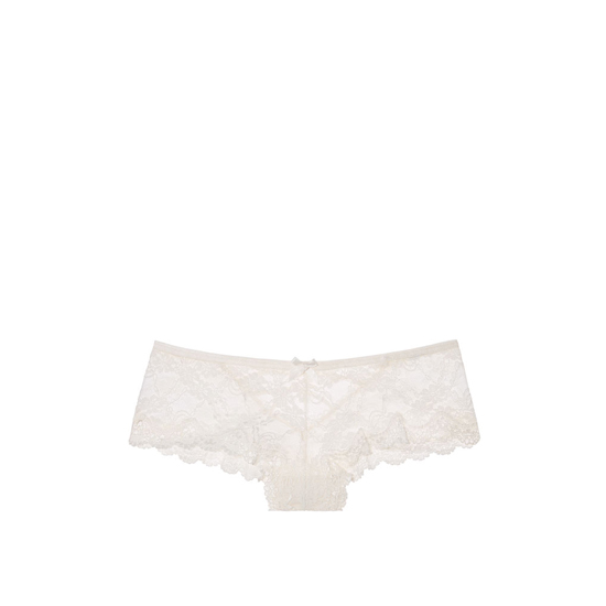 Cheap VICTORIA'S SECRET Coconut White NEW! Strappy Lace Cheeky Panty Online