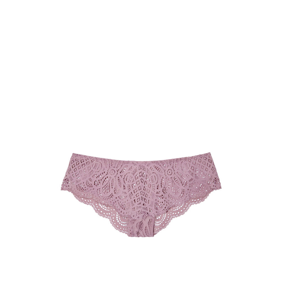 Cheap VICTORIA'S SECRET Gentle Mauve NEW! Crochet Lace Cheekster Panty Online