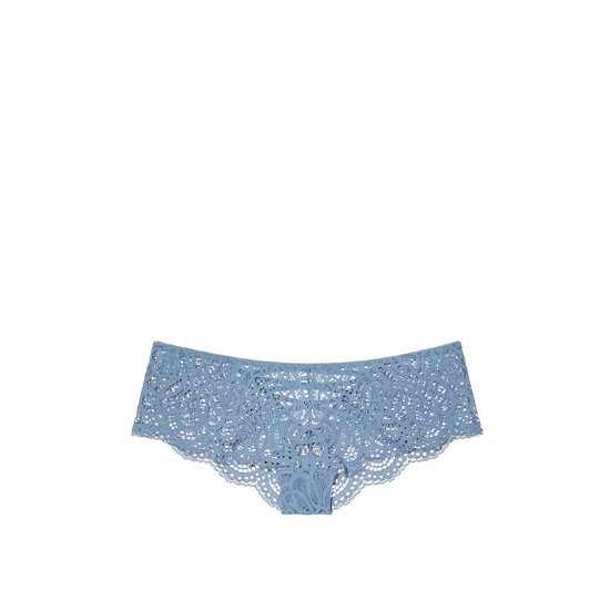 Cheap VICTORIA'S SECRET Faded Denim NEW! Lace-up Cheekster Panty Online