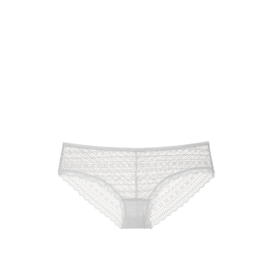 Cheap VICTORIA'S SECRET So Silver Lace Cheeky Panty Online