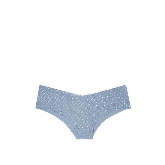 Cheap VICTORIA'S SECRET Faded Denim Shine NEW! Raw Cut Cheeky Panty Online