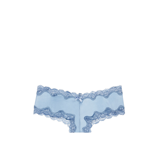 Cheap VICTORIA'S SECRET Powder Blush Lace-Trim Cheeky Panty Online