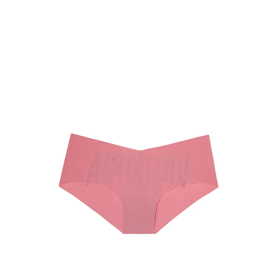 Cheap VICTORIA'S SECRET Rosy Mauve Victoria Logo Raw Cut Hiphugger Online