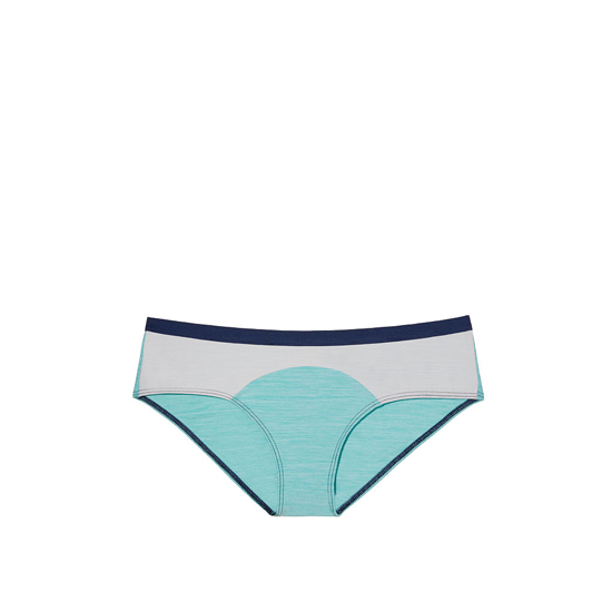 Cheap VICTORIA'S SECRET Cozumel Teal Colorblock NEW! Marl Hipster Panty Online