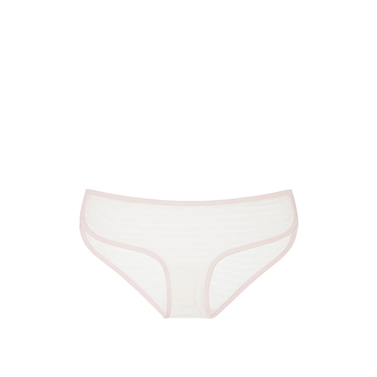 Cheap VICTORIA'S SECRET Coconut White Shadow Stripe NEW! Marl Hipster Panty Online
