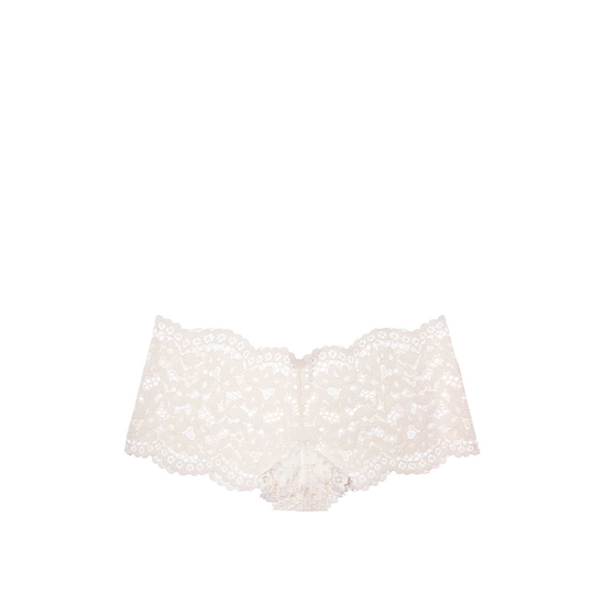 Cheap VICTORIA'S SECRET Coconut White The Floral Lace Sexy Shortie Online
