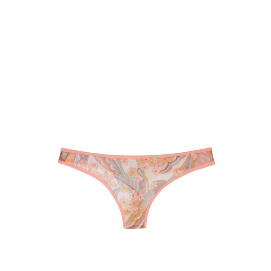Cheap VICTORIA'S SECRET Summer Floral Print NEW! Mesh Thong Panty Online